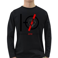 Twenty One Pilots Skull Long Sleeve Dark T-Shirts