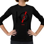 Twenty One Pilots Skull Women s Long Sleeve Dark T-Shirts Front