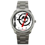 Twenty One Pilots Skull Sport Metal Watch Front
