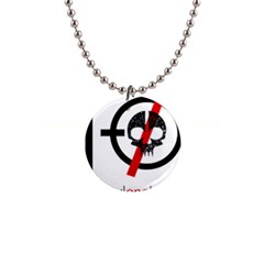 Twenty One Pilots Skull Button Necklaces