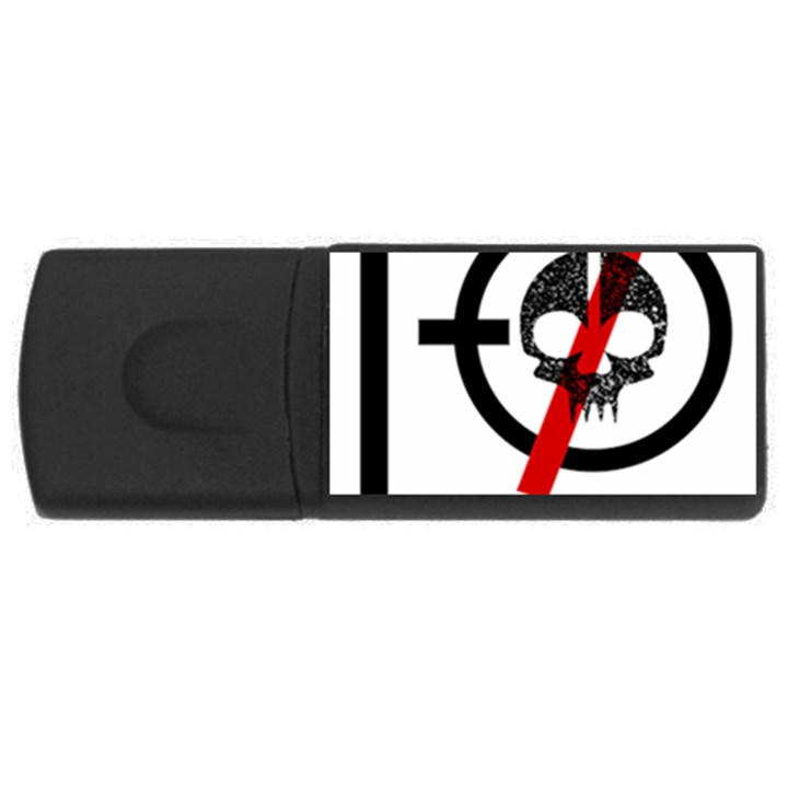 Twenty One Pilots Skull USB Flash Drive Rectangular (4 GB)