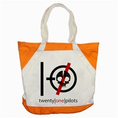 Twenty One Pilots Skull Accent Tote Bag