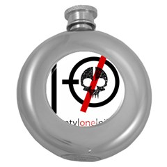 Twenty One Pilots Skull Round Hip Flask (5 oz)
