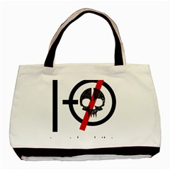 Twenty One Pilots Skull Basic Tote Bag (Two Sides)