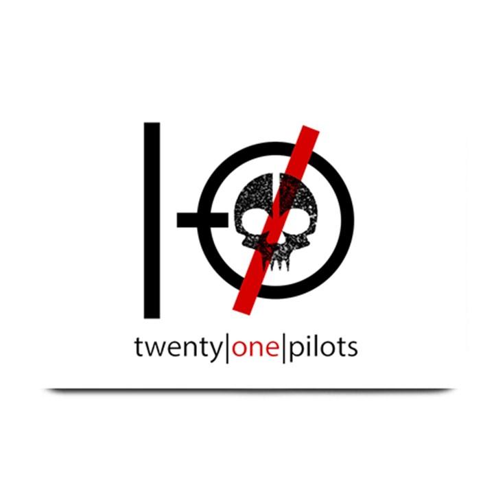 Twenty One Pilots Skull Plate Mats