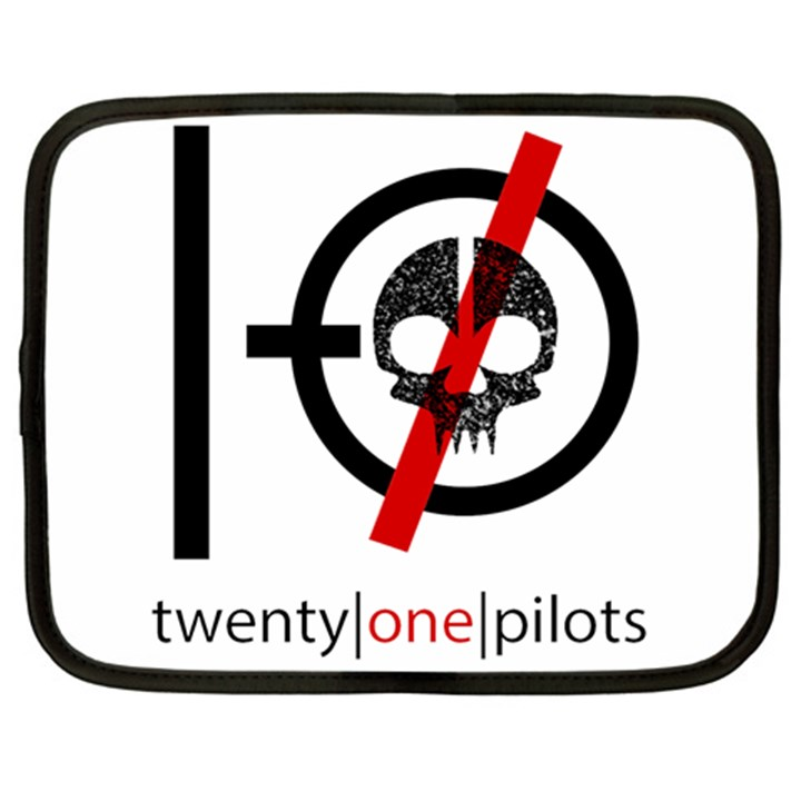 Twenty One Pilots Skull Netbook Case (Large)