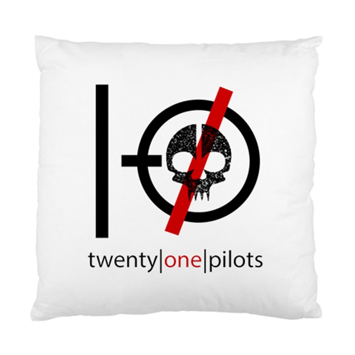 Twenty One Pilots Skull Standard Cushion Case (One Side)