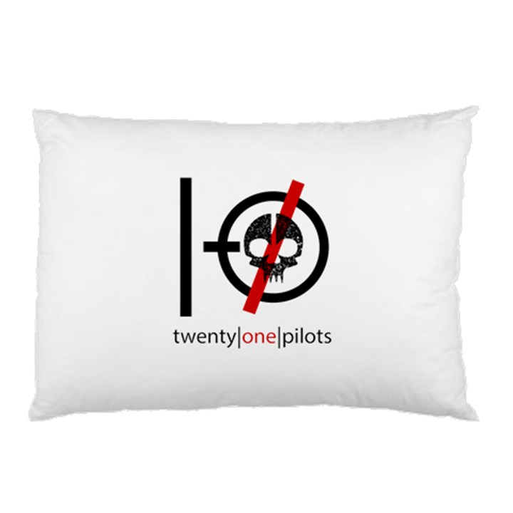 Twenty One Pilots Skull Pillow Case