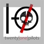 Twenty One Pilots Skull Canvas 10  x 8  10  x 8  x 0.875  Stretched Canvas