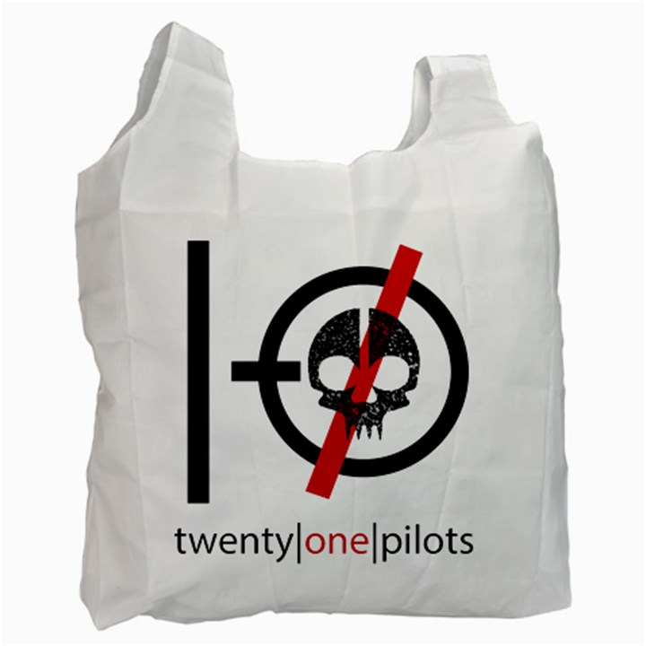 Twenty One Pilots Skull Recycle Bag (One Side)