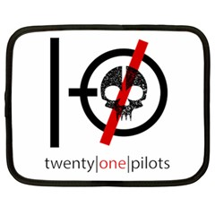 Twenty One Pilots Skull Netbook Case (XL)
