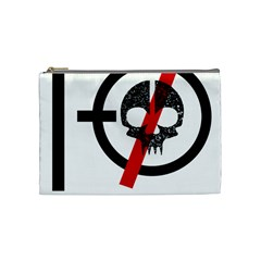 Twenty One Pilots Skull Cosmetic Bag (medium)
