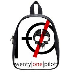 Twenty One Pilots Skull School Bags (Small)