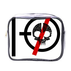 Twenty One Pilots Skull Mini Toiletries Bags