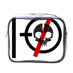 Twenty One Pilots Skull Mini Toiletries Bags Front