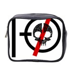 Twenty One Pilots Skull Mini Toiletries Bag 2-Side Front