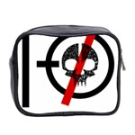 Twenty One Pilots Skull Mini Toiletries Bag 2-Side Back