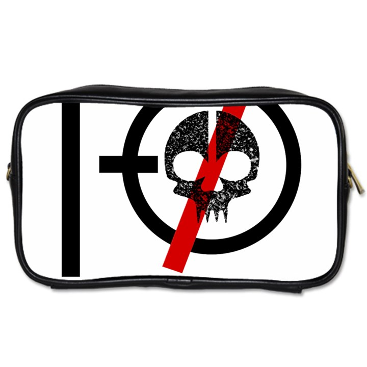 Twenty One Pilots Skull Toiletries Bags