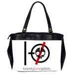Twenty One Pilots Skull Office Handbags (2 Sides)  Back
