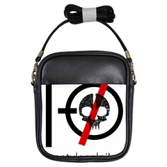 Twenty One Pilots Skull Girls Sling Bags