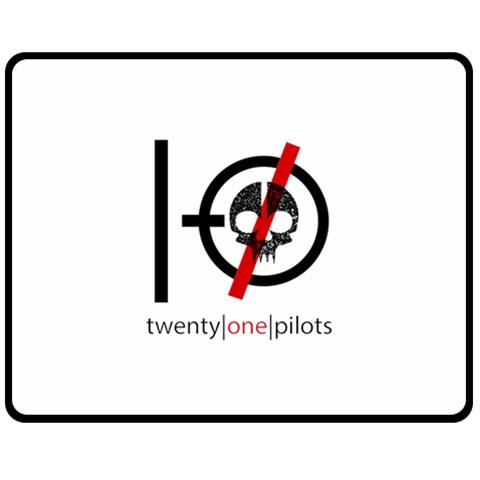 Twenty One Pilots Skull Fleece Blanket (Medium)