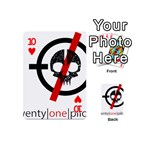 Twenty One Pilots Skull Playing Cards 54 (Mini)  Front - Heart10