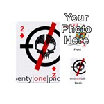 Twenty One Pilots Skull Playing Cards 54 (Mini)  Front - Diamond2