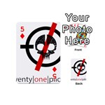 Twenty One Pilots Skull Playing Cards 54 (Mini)  Front - Diamond5