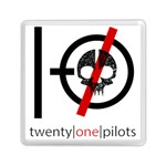 Twenty One Pilots Skull Memory Card Reader (Square)  Front