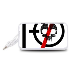 Twenty One Pilots Skull Portable Speaker (White)