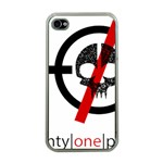 Twenty One Pilots Skull Apple iPhone 4 Case (Clear) Front