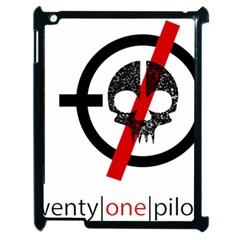 Twenty One Pilots Skull Apple Ipad 2 Case (black)
