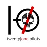 Twenty One Pilots Skull Peace Sign 3D Greeting Card (7x5) Inside