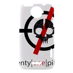 Twenty One Pilots Skull HTC One X Hardshell Case