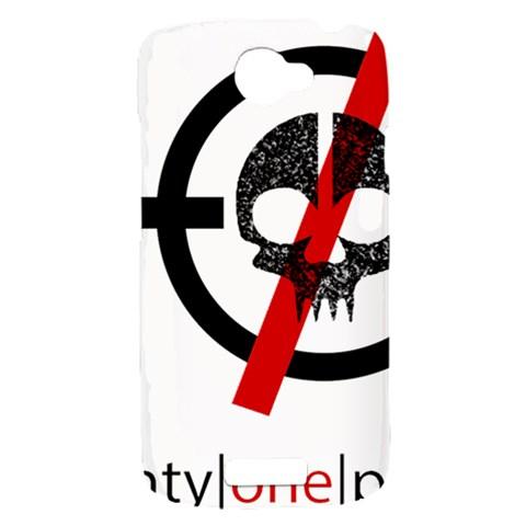 Twenty One Pilots Skull HTC One S Hardshell Case