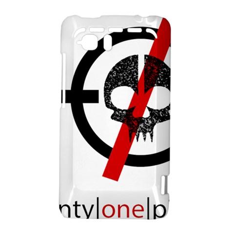 Twenty One Pilots Skull HTC Vivid / Raider 4G Hardshell Case