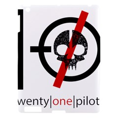 Twenty One Pilots Skull Apple iPad 3/4 Hardshell Case