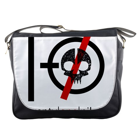 Twenty One Pilots Skull Messenger Bags