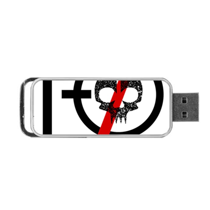 Twenty One Pilots Skull Portable USB Flash (One Side)
