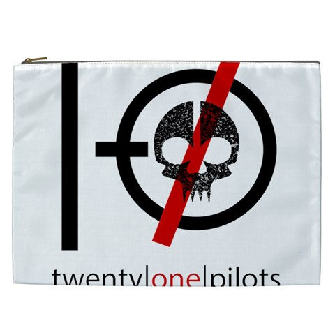 Twenty One Pilots Skull Cosmetic Bag (XXL)