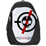 Twenty One Pilots Skull Backpack Bag Front