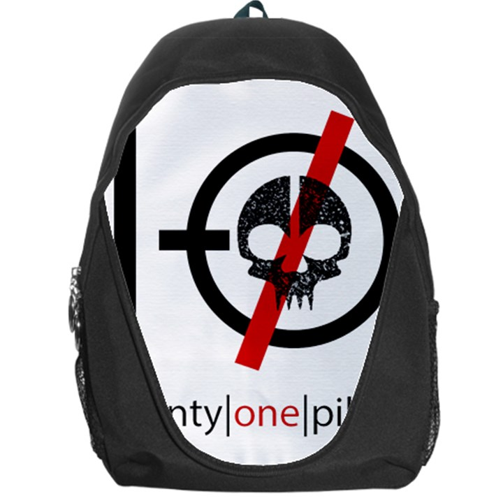Twenty One Pilots Skull Backpack Bag