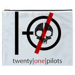 Twenty One Pilots Skull Cosmetic Bag (XXXL)