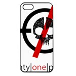 Twenty One Pilots Skull Apple iPhone 5 Seamless Case (Black) Front