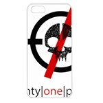 Twenty One Pilots Skull Apple iPhone 5 Seamless Case (White) Front