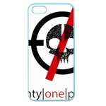 Twenty One Pilots Skull Apple Seamless iPhone 5 Case (Color) Front