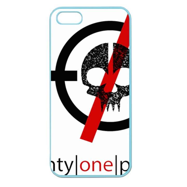 Twenty One Pilots Skull Apple Seamless iPhone 5 Case (Color)