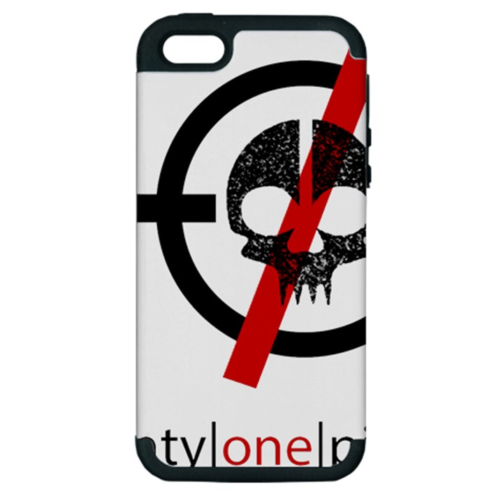 Twenty One Pilots Skull Apple iPhone 5 Hardshell Case (PC+Silicone)