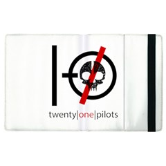 Twenty One Pilots Skull Apple iPad 2 Flip Case