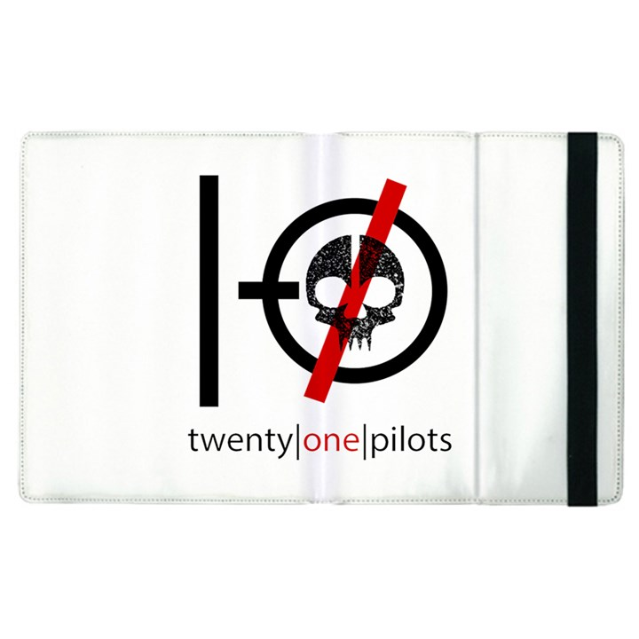 Twenty One Pilots Skull Apple iPad 3/4 Flip Case